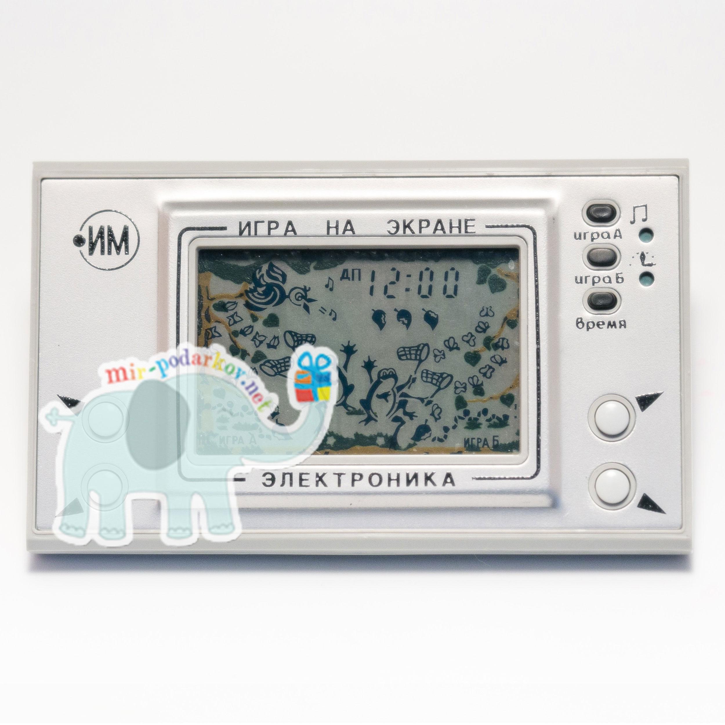 Электронная игра Квака-Задавака (оригинал)